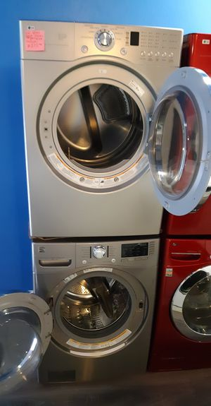 LG FRONT LOAD DRYER AND KENMORE WASHER WORKING PERFECTLY 4 MONTHS WARRANTY for Sale in Baltimore, MD