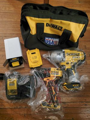 Dewalt 3/4 impact & hammer drill w/2 batteries and bag for Sale in Philadelphia, PA