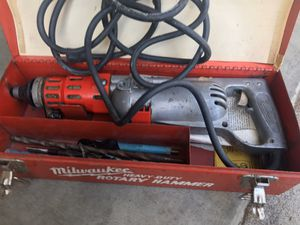 Milwaukee rotary hammer drill for Sale in Vallejo, CA