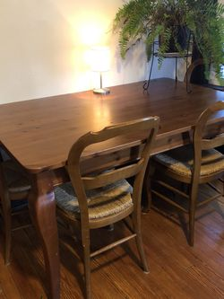 Pottery Barn Wood Table for Sale in Belleville,  NJ