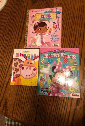3 books 1 card game for Sale in Manassas, VA