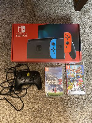 Nintendo Switch V2 Bundle for Sale in Monroe, WA