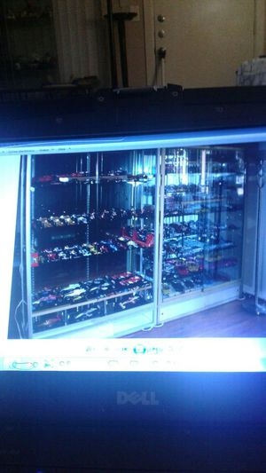 2 show glass display full for Sale in Houston, TX