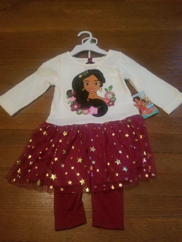 Disney Princess Elena outfit - 3T