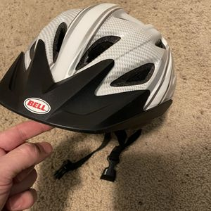 Adult Bike Helmet- Bell 56-60 L White for Sale in Bothell, WA
