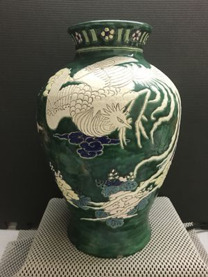 Antique Chinese Handmade Porcelain Vase for Sale in Kennesaw, GA