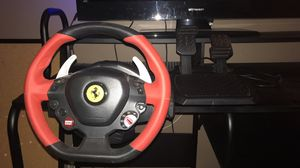 Thrustmaster Xbox One Ferrari 458 Spider Racing Wheel for Sale in Harrisburg, IL