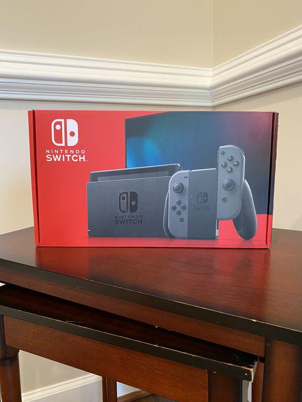 Nintendo Switch Console Gray Joy-Con V2