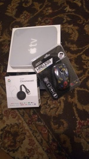 Chromecast, Apple TV and Wireless Mouse for Sale in Columbus, OH