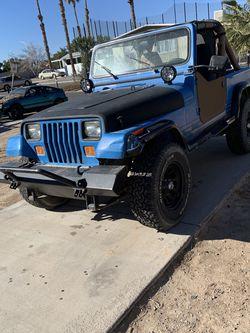 1989 Jeep Wrangler Yj 4.2L 4x4 for Sale in Las Vegas,  NV