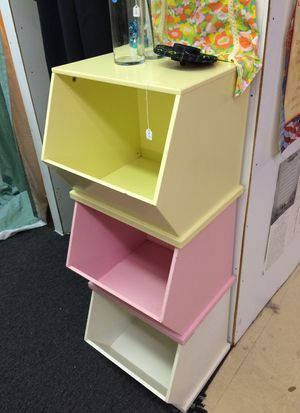 Wooden storage bins for Sale in NC, US