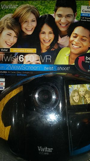 Vivitar itwist610dvr for Sale in Port St. Lucie, FL