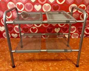 Small Adjustable Shelves Organizer New $7 Or Best Offer for Sale in Moreno Valley, CA