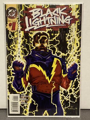 DC Comics BLACK LIGHTNING issue #1 Comic Book - Key Issue - First Print - Must Have!!! for Sale in Plainfield, IL
