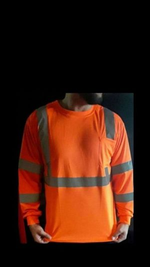 SAFETY Visibility Shirt ALL SIZES $10..FIRM..FIRM ...low ballers will be ignored for Sale in Fontana, CA