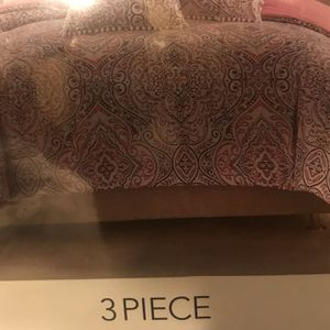 New 3 Piece King Comforter Set for Sale in Dallas, TX