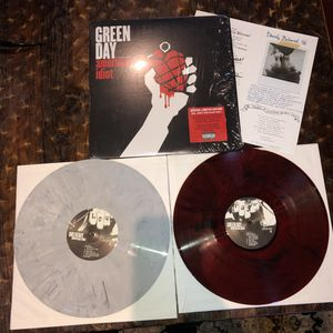 Green Day American Idiot 2 LP Colored Limited Edition Vinyl for Sale in Rancho Cucamonga, CA