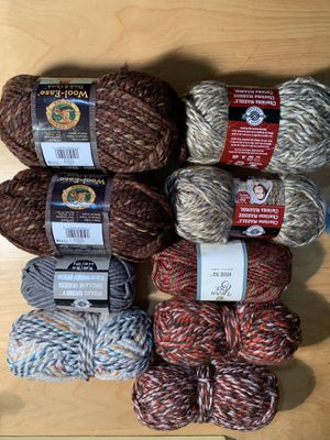 Lot of Yarn - Lion Brand , Loops & Threads, Yarn Bee for Sale in Downey, CA