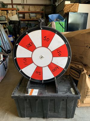 Prize wheel spinner for Sale in Raleigh, NC