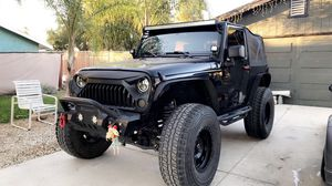 Jeep Wrangler jk Sahara for Sale in Canyon Lake, CA