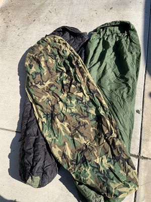 US military 3 pc modular sleeping bag with goretex. for Sale in Monrovia, CA