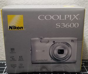 NIKON-SILVER-COOLPIX S3600 for Sale in Anaheim, CA