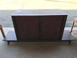 Mid Century Stereo cabinet with turntable for Sale in Mesa, AZ