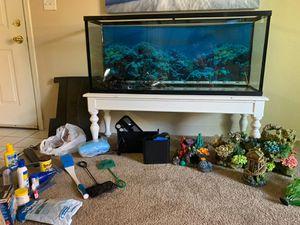 55 gal fish tank aquarium for Sale in Arvada, CO