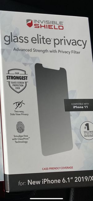 iPhone 11 Privacy Screen Protector for Sale in Houston, TX