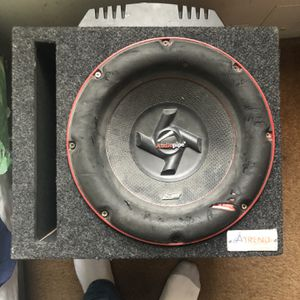 12inch Audio Pipe 1500 Watt Sub w/ 800Watt Xplode amp for Sale in Washington, DC