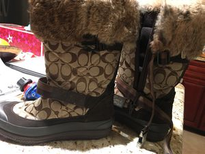 Coach snow boots for Sale in Crofton, MD