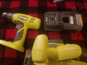 RYOBI SAW, DRILL, & BATTERY CHARGER for Sale in Sierra Vista, AZ