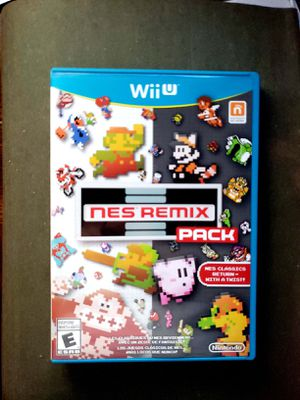 NES Remix Pack for Wii U for Sale in Los Angeles, CA
