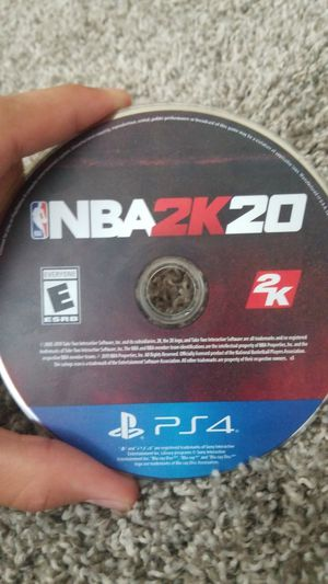 2k20 ps4 for Sale in Zephyrhills, FL