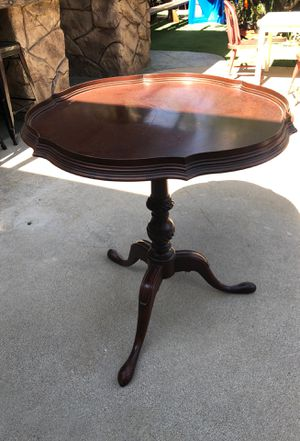 Antique mahogany side table for Sale in Fullerton, CA
