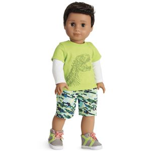 American Girl Doll Boys Dino Mite Outfit for Sale in Los Angeles, CA