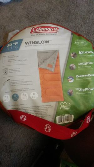 Coleman Winslow Sleeping Bag BRAND NEW for Sale in Lacey, WA