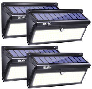 Solar Lights Outdoor, Wireless 100 LED Solar Motion Sensor Lights Waterproof Security Wall Lighting Outside for Front Door, Backyard, Steps, Garage, for Sale in South Brunswick Township, NJ