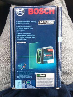 Bosch self leveling laser GLL40-20G for Sale in Lincoln, NE