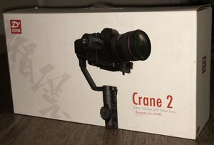 Used Zhiyun Crane 2 3-Axis Gimbal Stabilizer (with Follow Focus) for DSLR Camera for Sale in El Cajon, CA