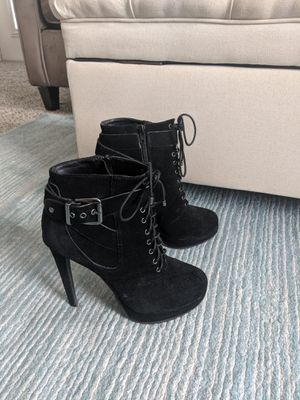 Black suede boots for Sale in Raleigh, NC