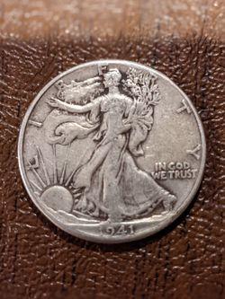 1941 P Walking Liberty Half Dollar for Sale in Manassas,  VA