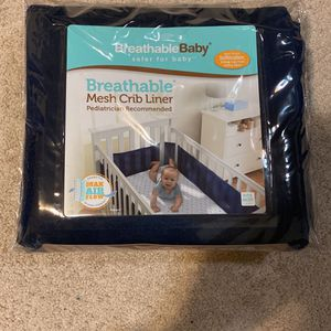 Breathable Mesh Crib Liner for Sale in Happy Valley, OR