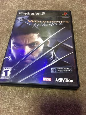 Ps2 wolverines revenge for Sale in Davenport, IA