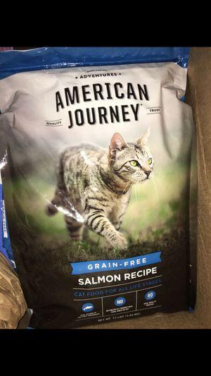 American Journey Grain Free Salmon Cat Food 12lbs for Sale in Richmond, VA