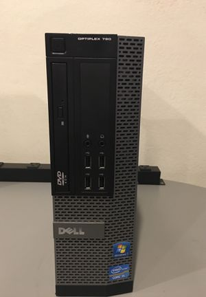 I5 Dell 790 quad Core Win 10, Office, 500 gig HDD, 8GB ram for Sale in Fresno, CA