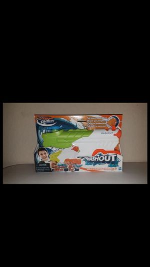 Nerf super soaker washout water gun new for Sale in Houston, TX