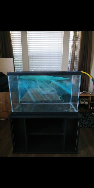 Fish tank with stand for Sale in Round Rock, TX