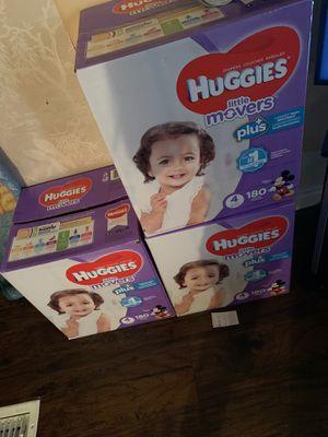 Huggies diapers for Sale in Fontana, CA