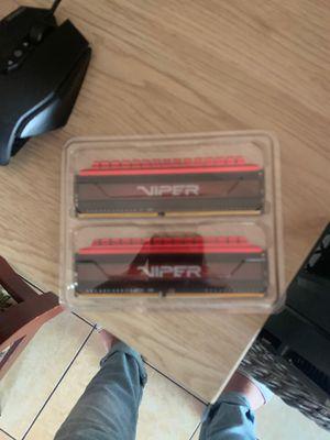 VIPER RAM 2x4GB 3000MHz for Sale in El Monte, CA